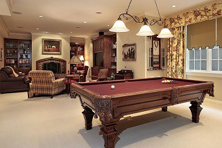 Pool table assembly with perfect leveling in Newnan content img3